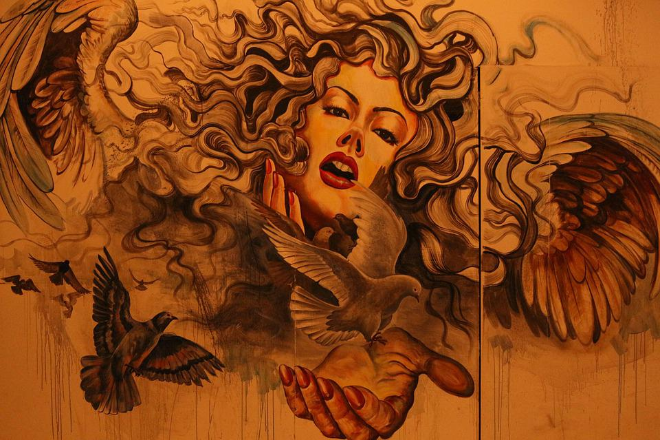Painting, Wall, Graffiti, Old, Ink, Design, Urban
