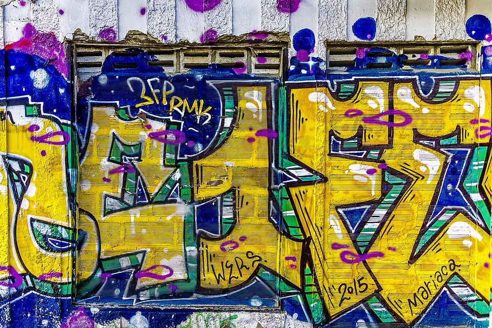 Free photo Graffiti Wall Graffiti Grunge Street Art Background - Max ...