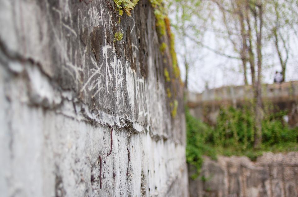Graffiti, Wall, Seonyudo