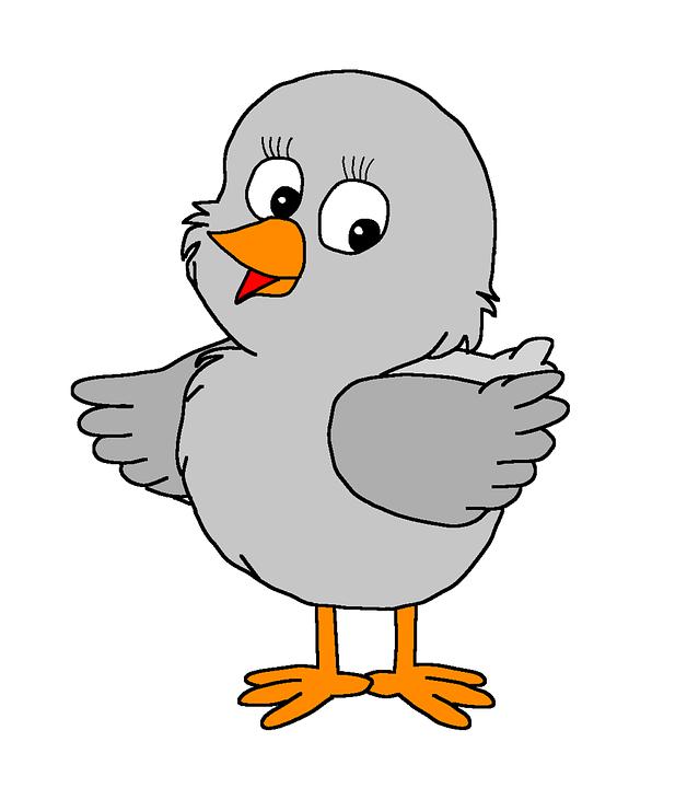Ptak, Brzydkie Kaczątko, Bajki, Grafika Komputerowa
