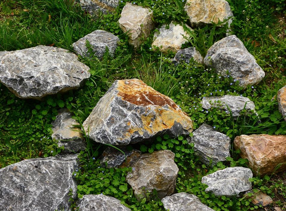 Boulders, Stones, Limestone, Grained Stones, Rocks