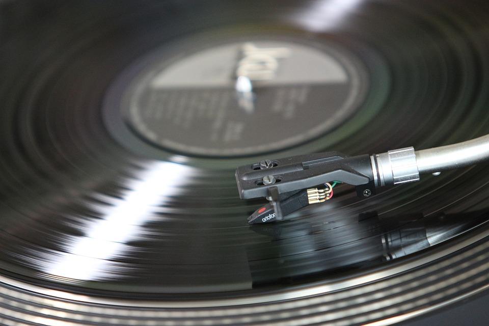 Gramophone Records, Plastic, Gramophone, Turntable