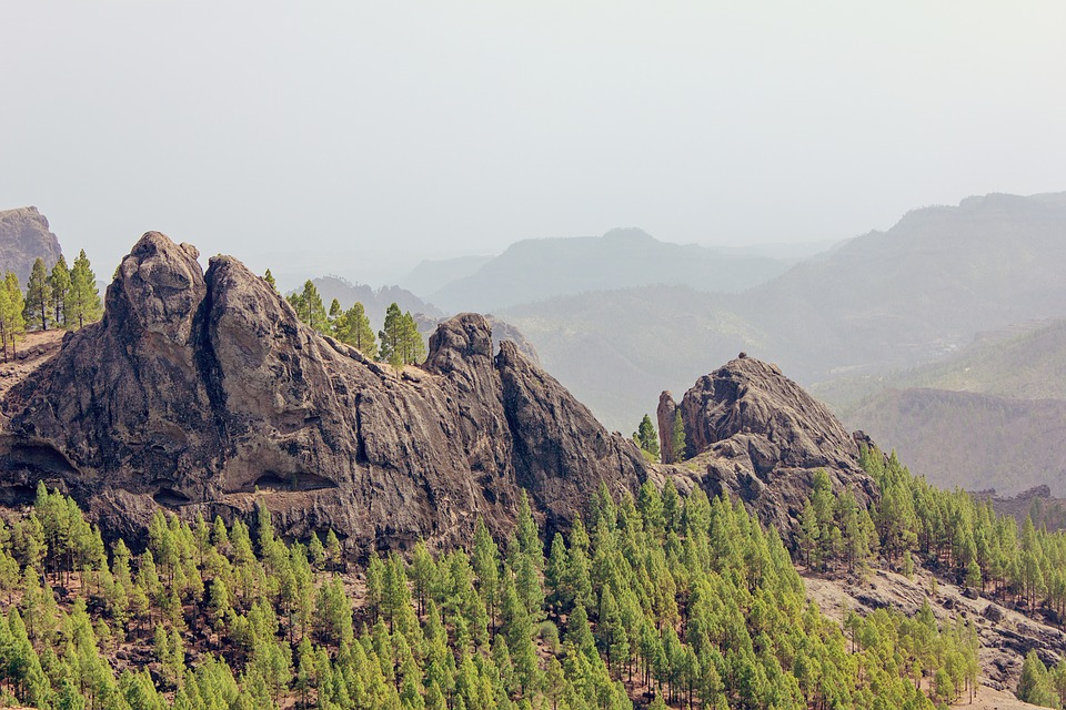 Gran Canaria, Canary Islands, Mountains, Rocks, Cliff
