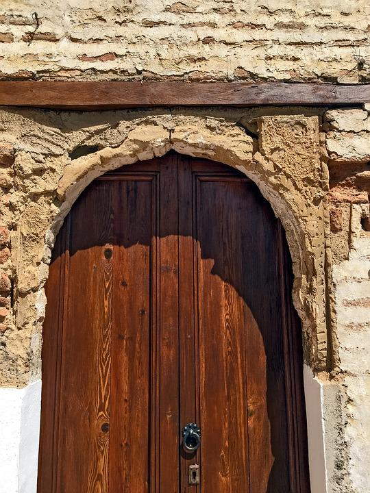 Doorway, Spain, Old, Door, Brick, Architecture, Granada
