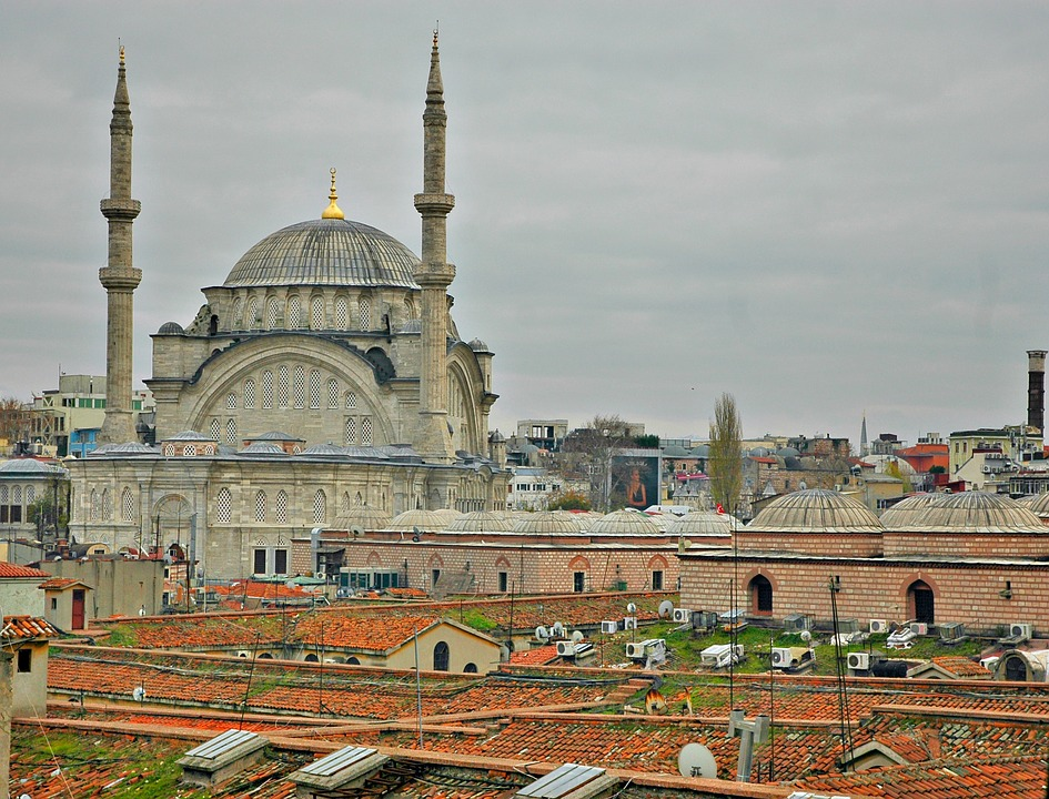 Istanbul, Mosque, Grand Bazaar, Cityscape, Turkey