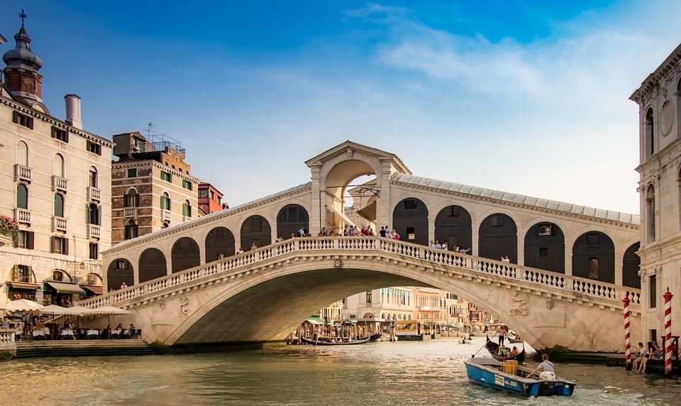 Venice, Grand Canal, Rialto Bridge, Bridge, Canal