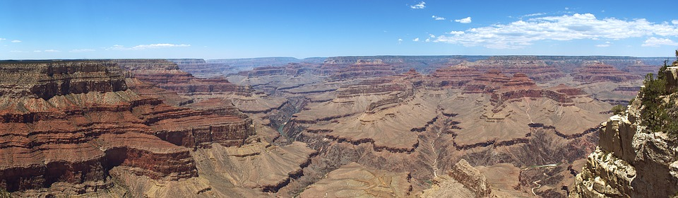 Panorama, Landscape, Grand Canyon, America, Usa