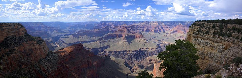 Grand Canyon, United States, Canyon, Landscape, Travel