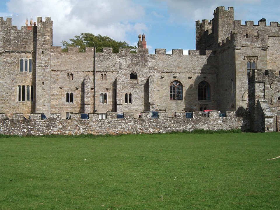 English Castle, Castle, Grand, Building, Landmark