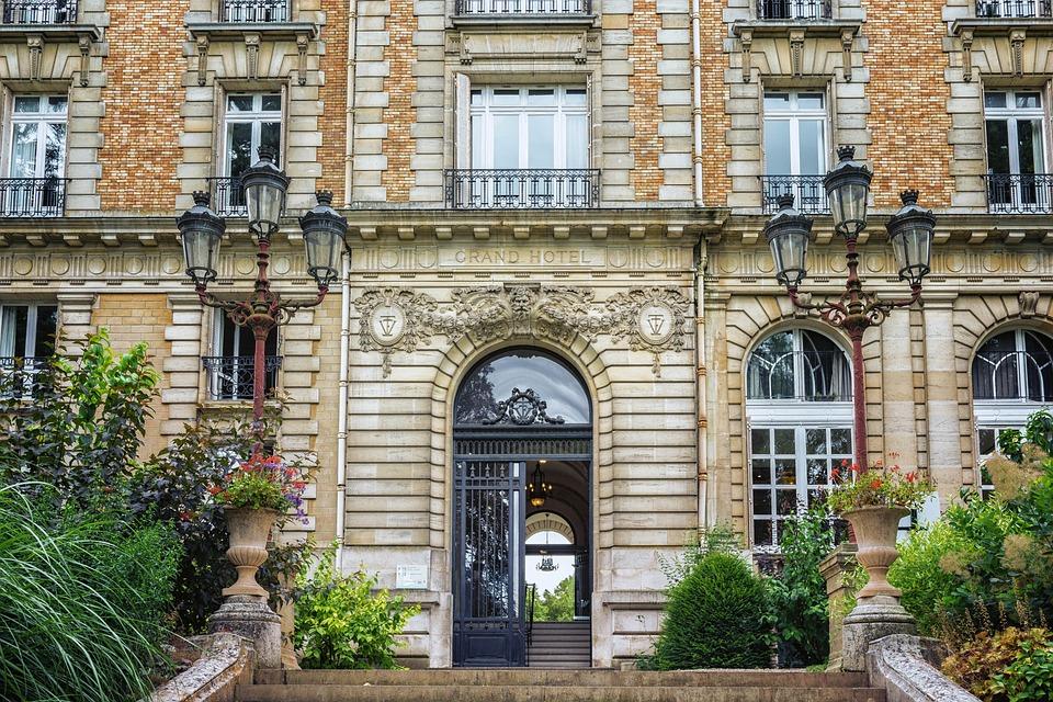 Hotel, France, Vittel, Grand Hotel, Architecture