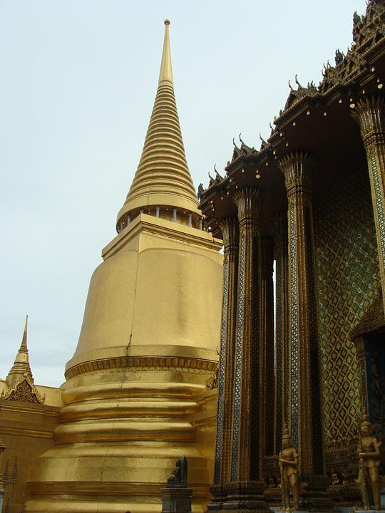 Grand Palace, Temple, Buddhism, Architecture, Religion