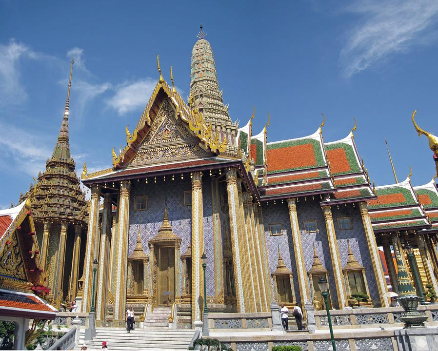 Grand Palace, Bangkok, Temple, Travel, Architecture