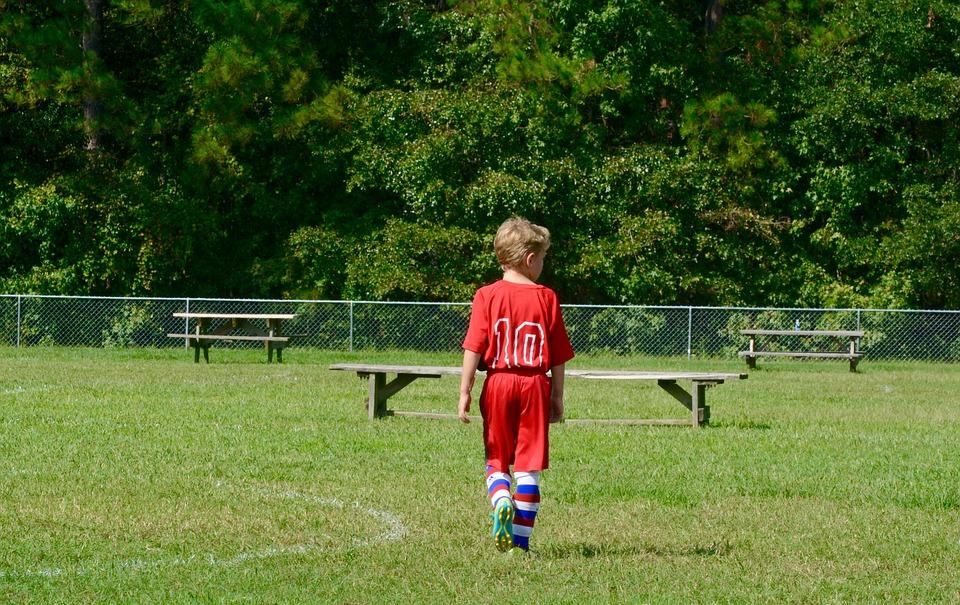 Soccer, Grandson, Boy