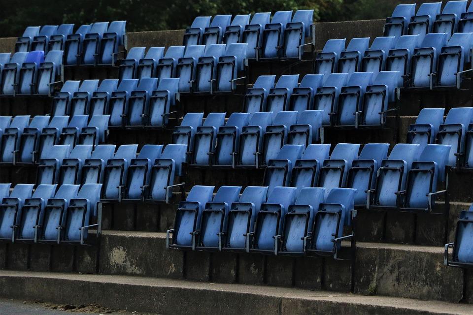 Seats, Stadium, Empty, Grandstand, Viewers