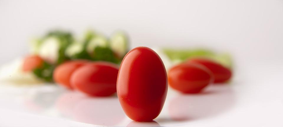 Tomatoes, Grape Tomatoes, Salad, Green Stuff