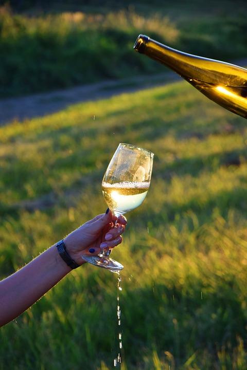 Glass, Wine, White Wine, Grape, Wine Glasses, Crystal