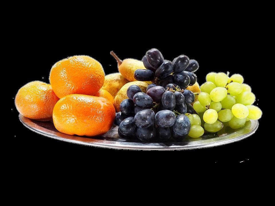 Fruit, Mandarin, Grapes, Pears, Fruits, Food