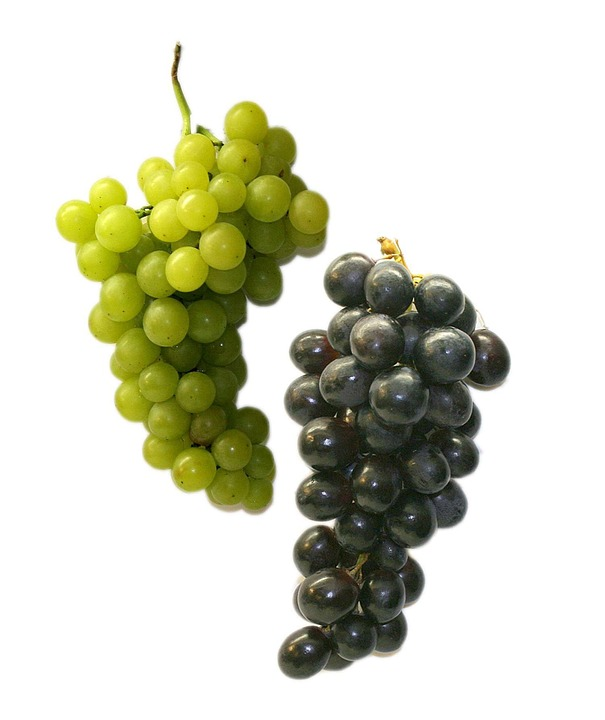 Table Grapes, Grapes, Fruit, Healthy, Green, Blue, Food