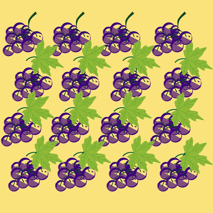Grapes, Background, Sheet, Leaves, Leaves Green