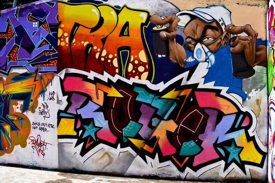 Graph, Wall, Artistic, Graffiti, Grafitti, Street-art