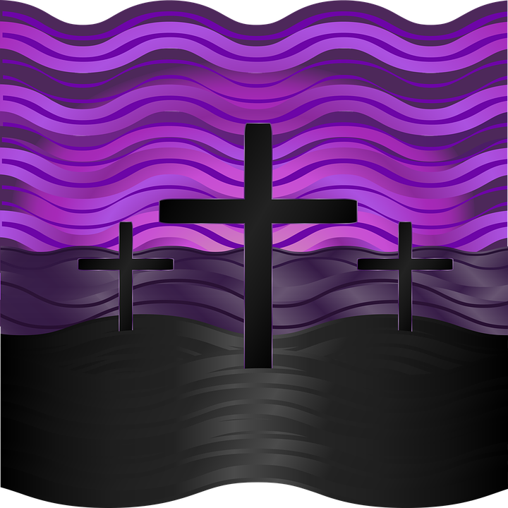 Graphic, Calvary, Easter, Good Friday, Lent