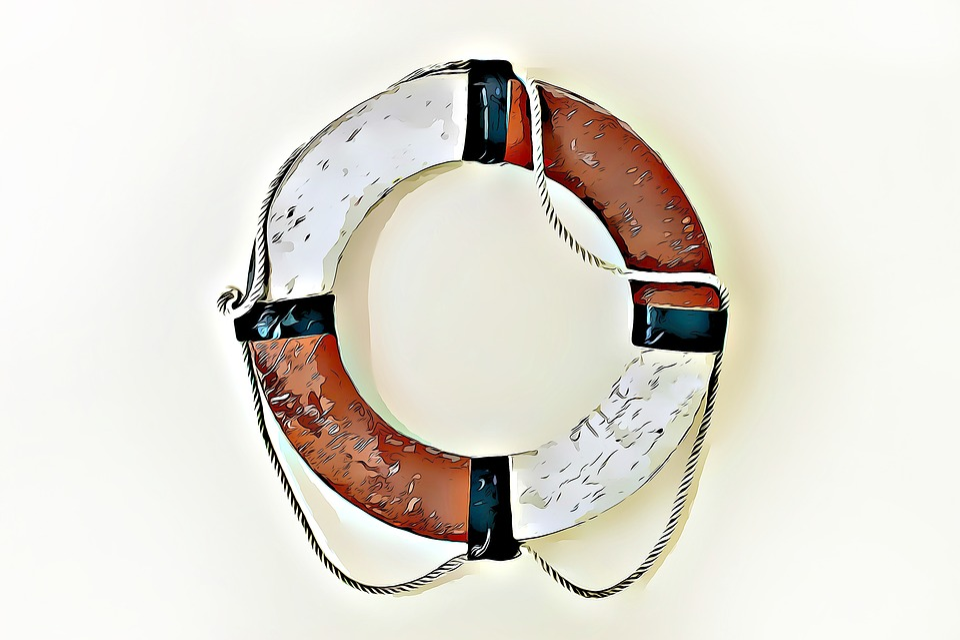 Life Buoy, Digital, Graphics, Water, Lifeguard, Rescue