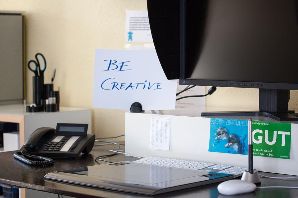 Company, Workplace, Office, Phone, Graphics Tablet
