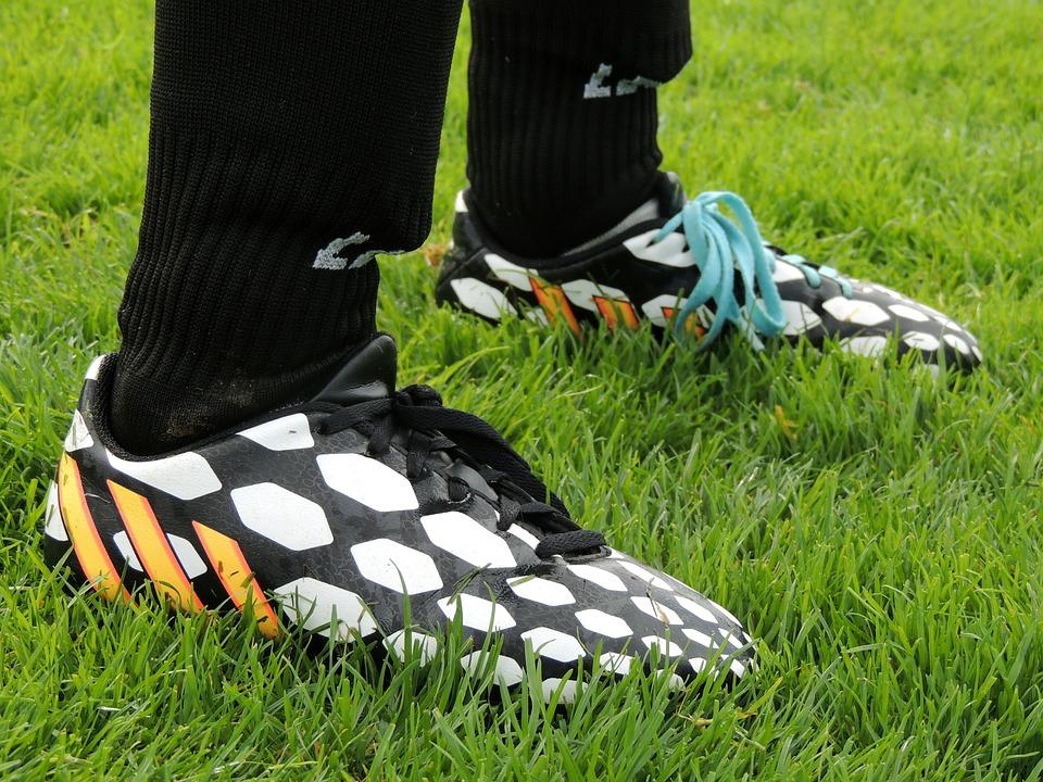 Cleats, Grass, Football