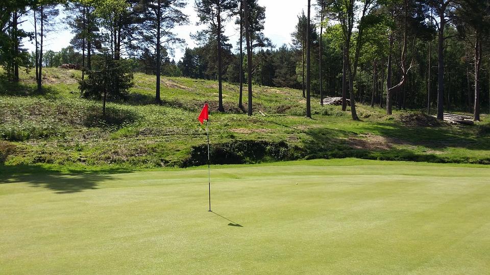 Golf, Golf Course, Green, Grass, Landscape, Outdoor