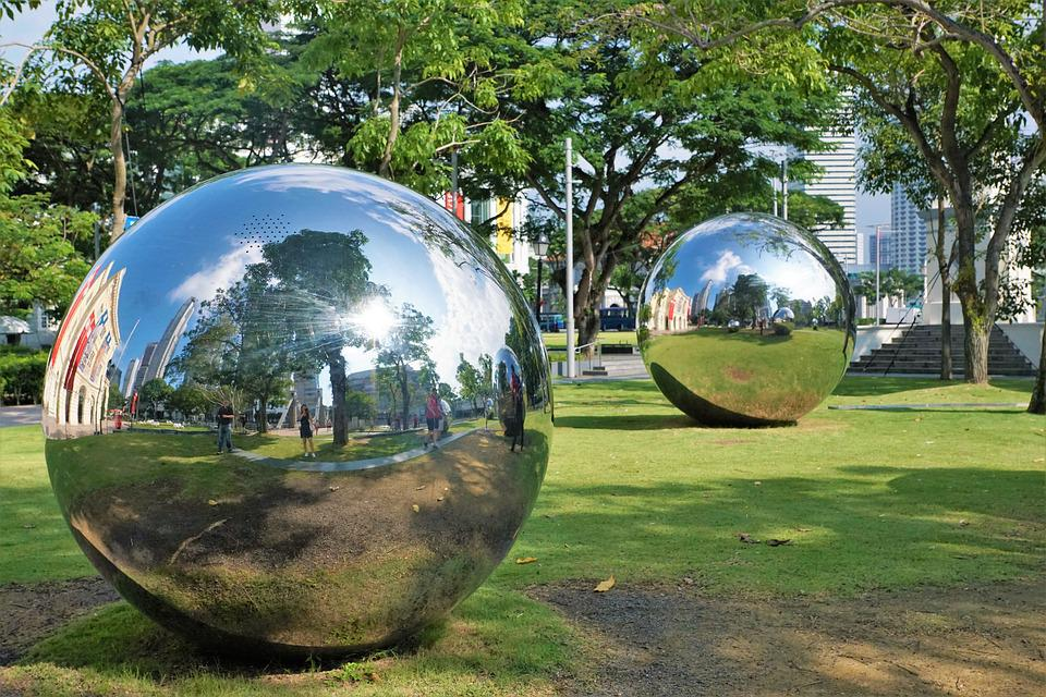 Spherical, Ball, Universe, Planet, Grass, Travel