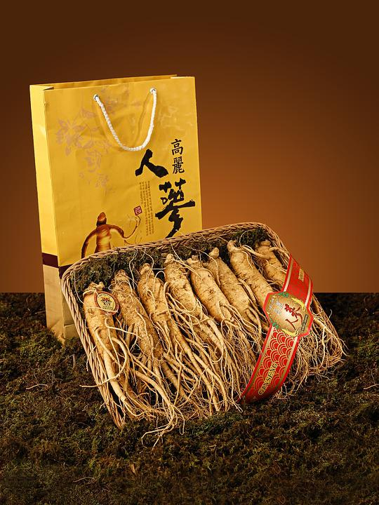 Ginseng, Product, Yellow, Grass