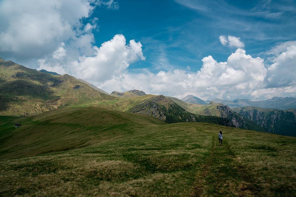 Landscape, Sky, Nature, Grassland, Cloud, Field