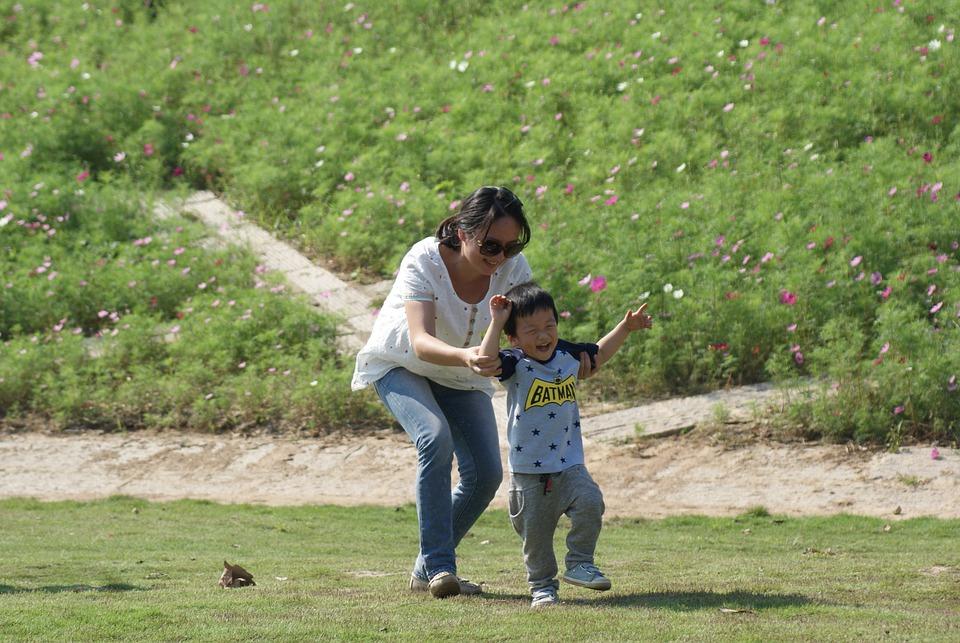 Paternity, Park, Grassland