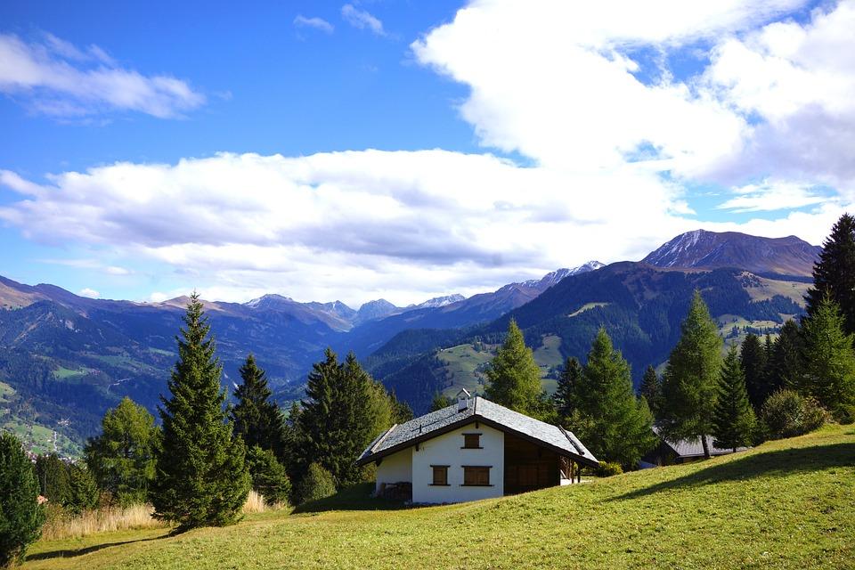 Brambrüesch, Schanfigg, Graubünden, Switzerland