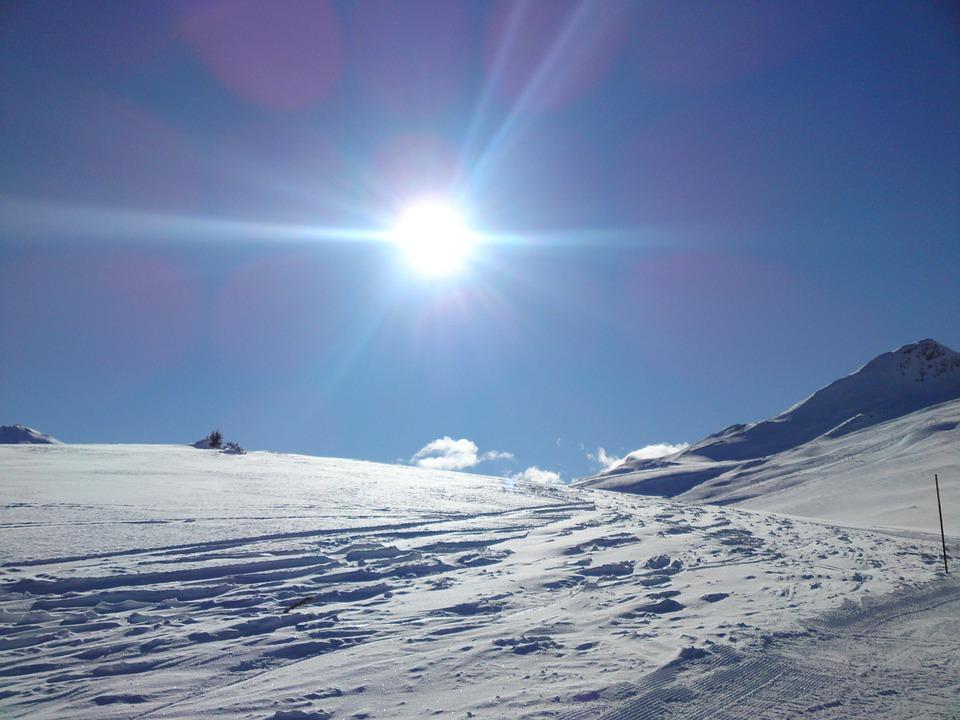 Snow Landscape, Winter, Mountains, Graubünden, Snow