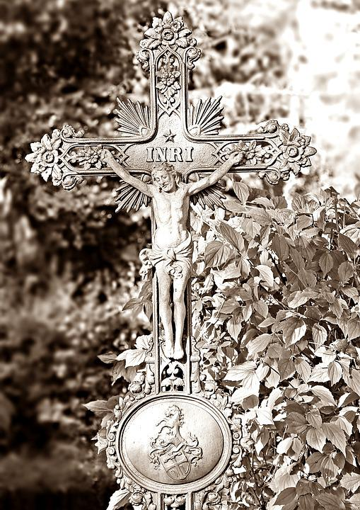 Cemetery, Cross, Grave, Mourning, Faith, Death