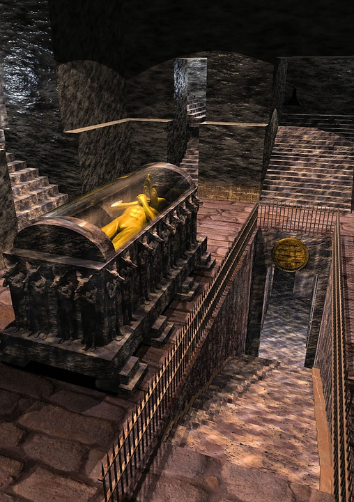 Tomb, Sarcophagus, Ancient, Stone, Architecture, Grave