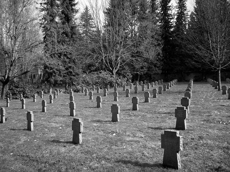 Mariánské Lázně, Czech Republic, Cemetery, Grave Stones