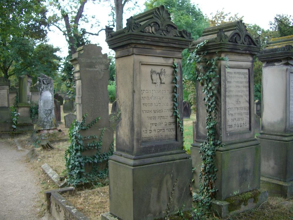 Grave Stones, Jewish Cemetery, Worms
