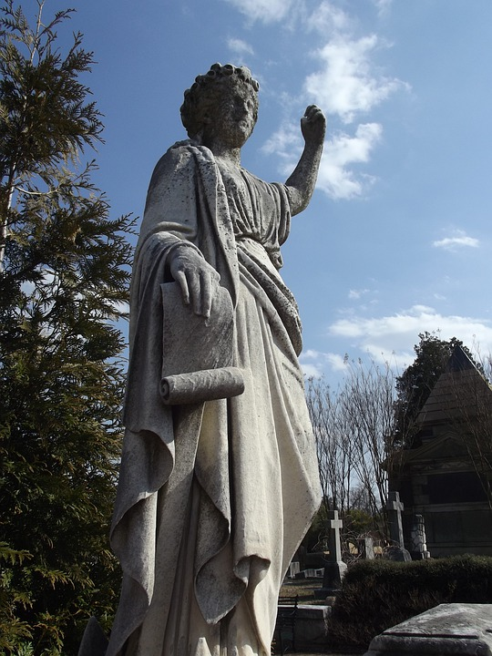Oakland Cemetery, Cemetery, Statue, Grave Yard