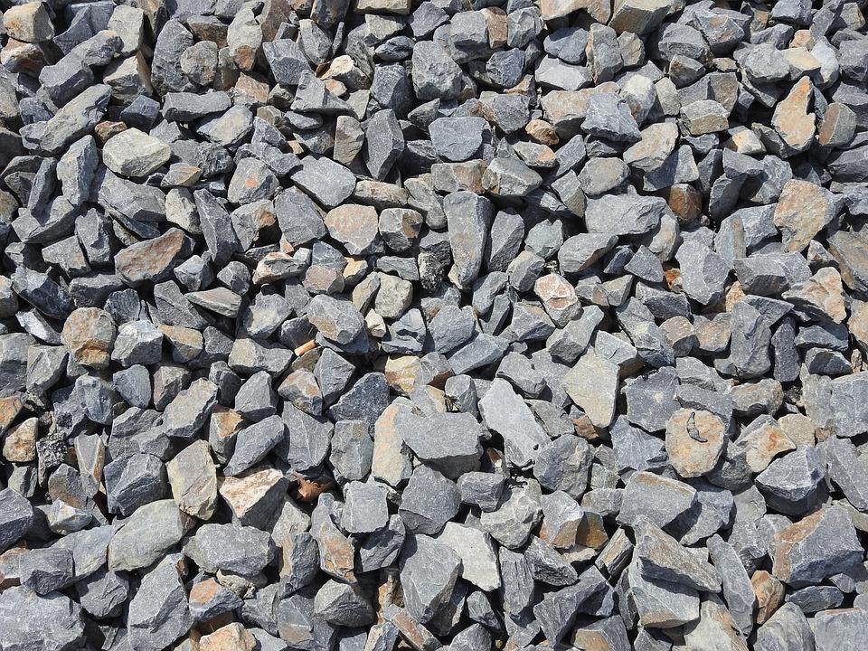 Stones, Gravel, Train, Background, Steinig, Structure