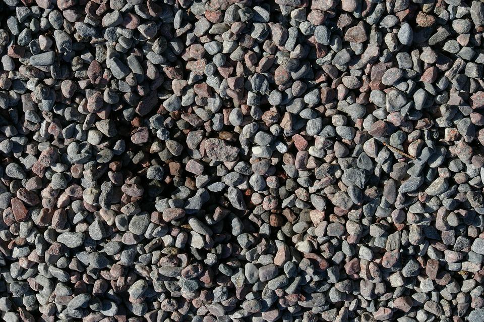 Gravel Path, Stone, Summer