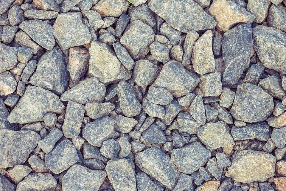 Stones, Gravel, Grey, Structure, Steinchen, Flooring