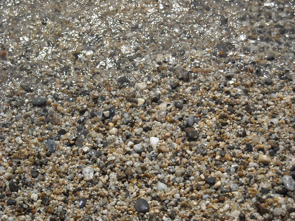 Water, Sea, Beach, Summer, Holidays, Gravel, Stones