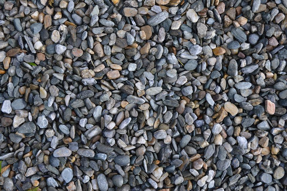 Gravel, Grey, Texture, Stone, Pattern