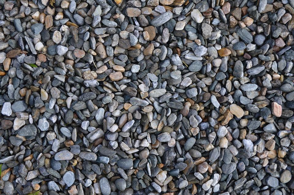 Gravel, Grey, Texture, Stone, Pattern