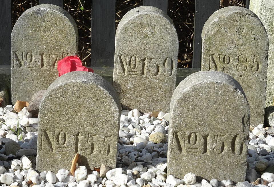 Grave Stones, Grave, Graves, Anonymous, Cemetery
