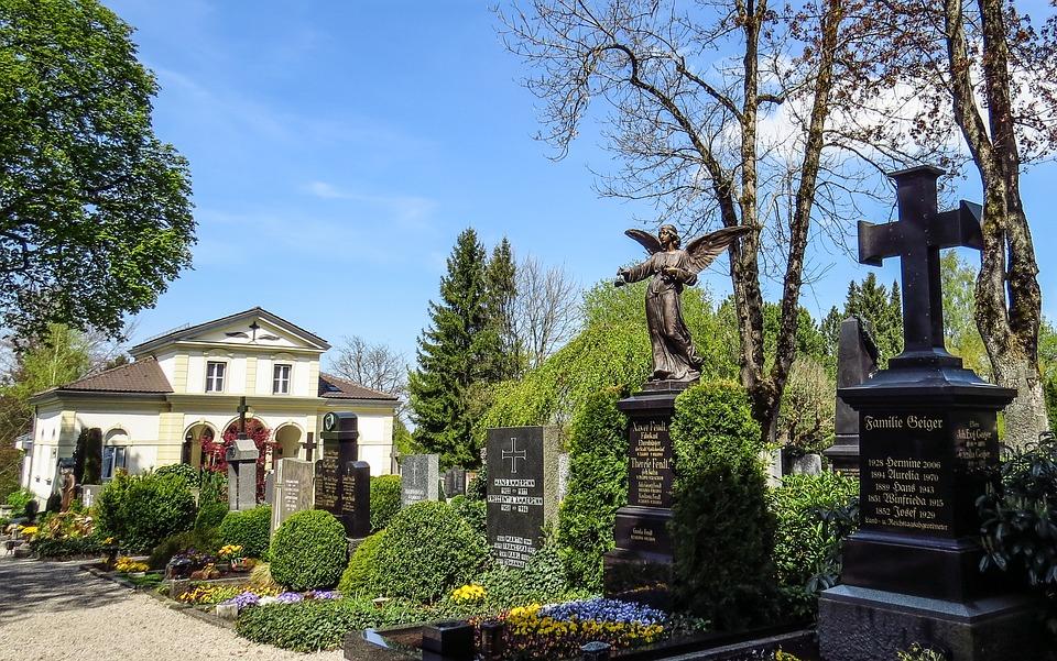 Cemetery, Graves, Gravestone, Grave Stones