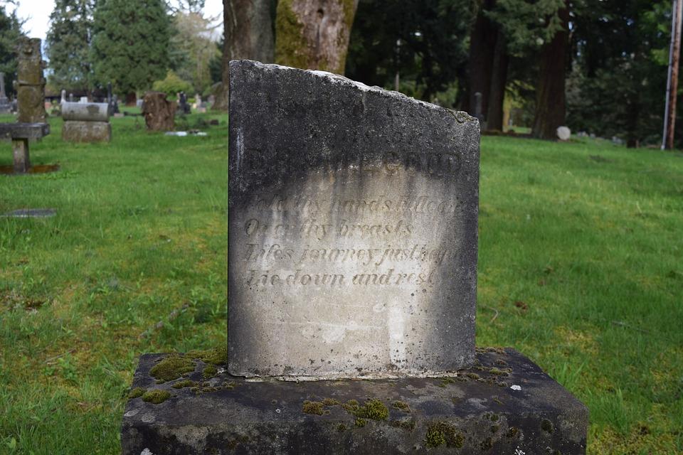 Tombstone, Gravestone, Cemetery, Decay, Marble