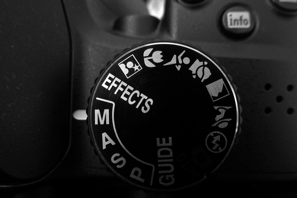 Camera, Settings, Dial Mode, Digital, Gray Camera